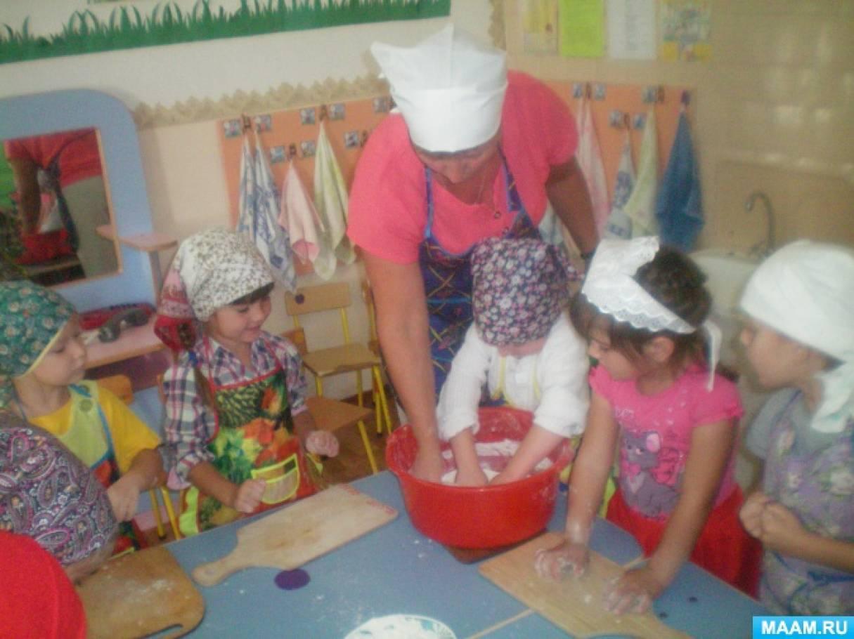 знакомства дошкольников с народными ремслами