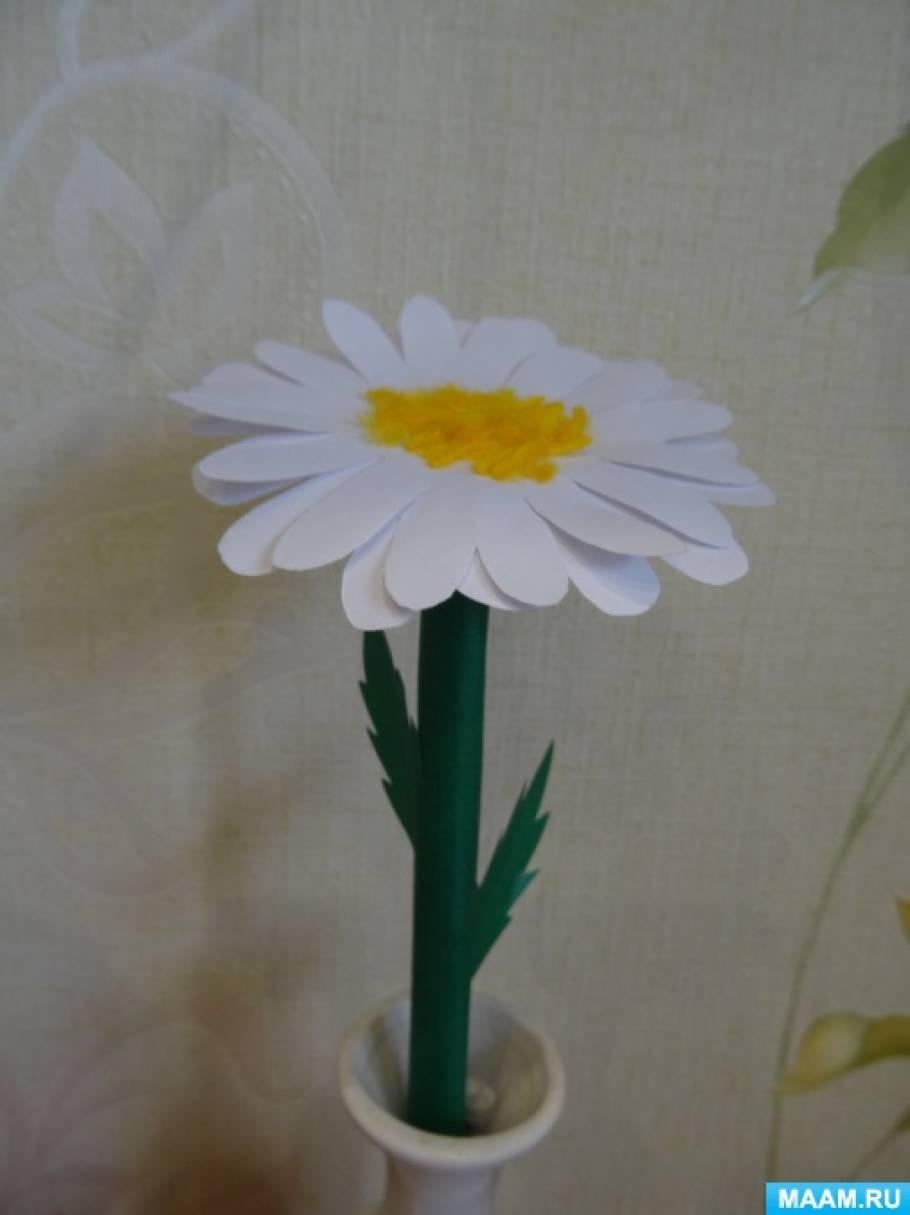 Конспект родительского собрания в подготовительной группе совместно с детьми «Цветок добра-ромашка»