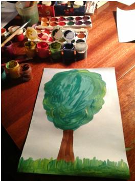 Рисунки огорода для детей