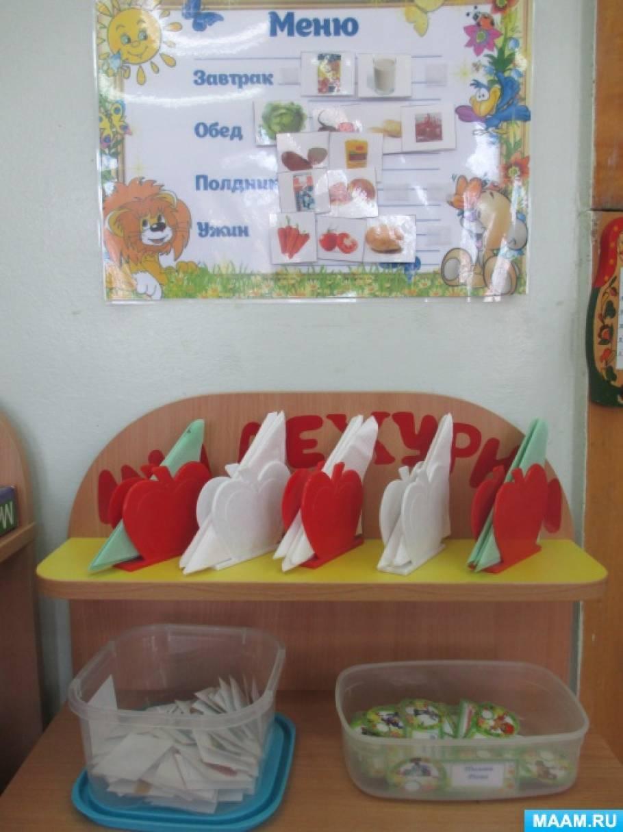 Уголок труда в детском саду оформление фото