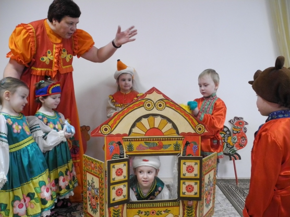Кукольный театр в детском саду реферат 3649