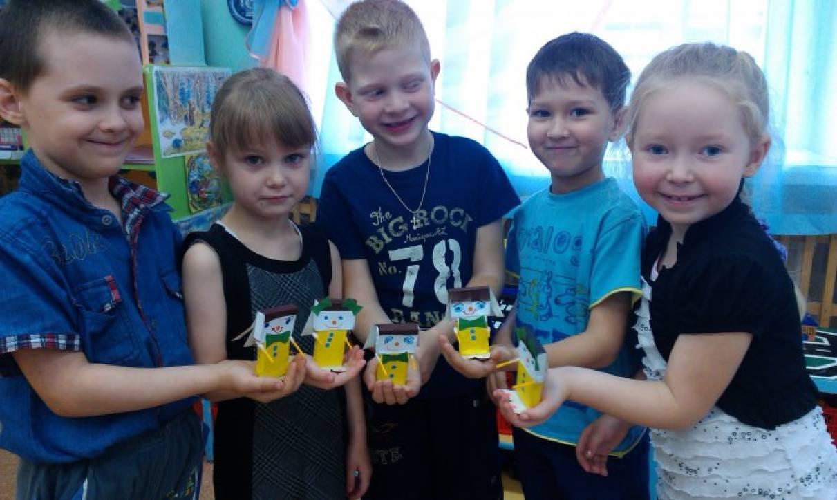 Мастер-класс по изготовлению игрушек из спичечных коробков