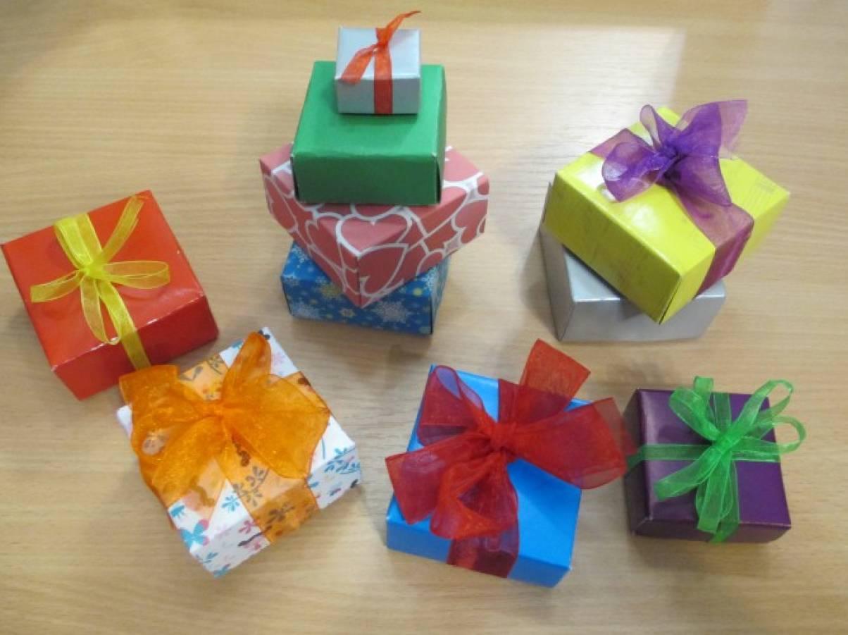 Мастер класс по коробочкам для подарка