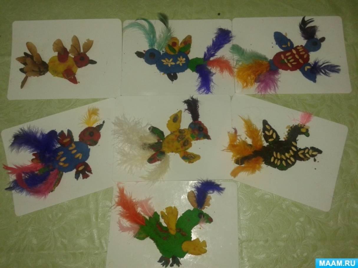Мастер-класс по изготовлению поделки из соленого теста с детьми подготовительной группы «Чудо-птица»