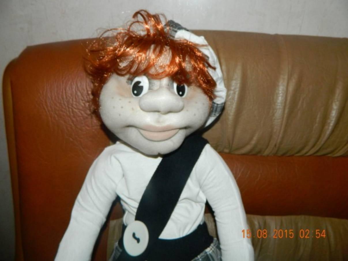 Мастер-класс «Кукла из капрона «Почемучка»