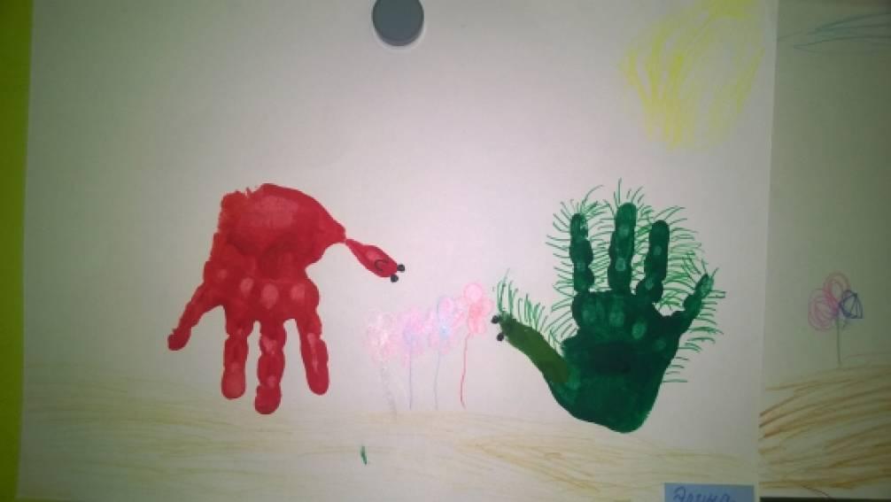 Как рисуют дети кактус