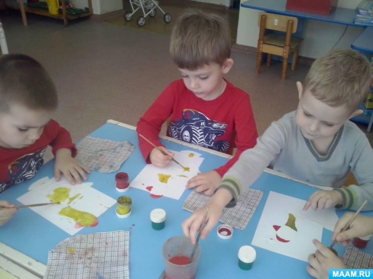 Конспект НОД по изобразительной деятельности в средней группе «Филимоновская игрушка»