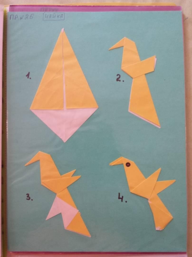 знакомство детей 4 лет с птицами