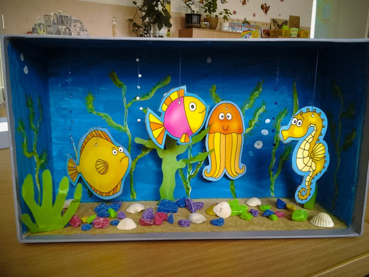 Поделки в аквариума своими руками фото фото 251