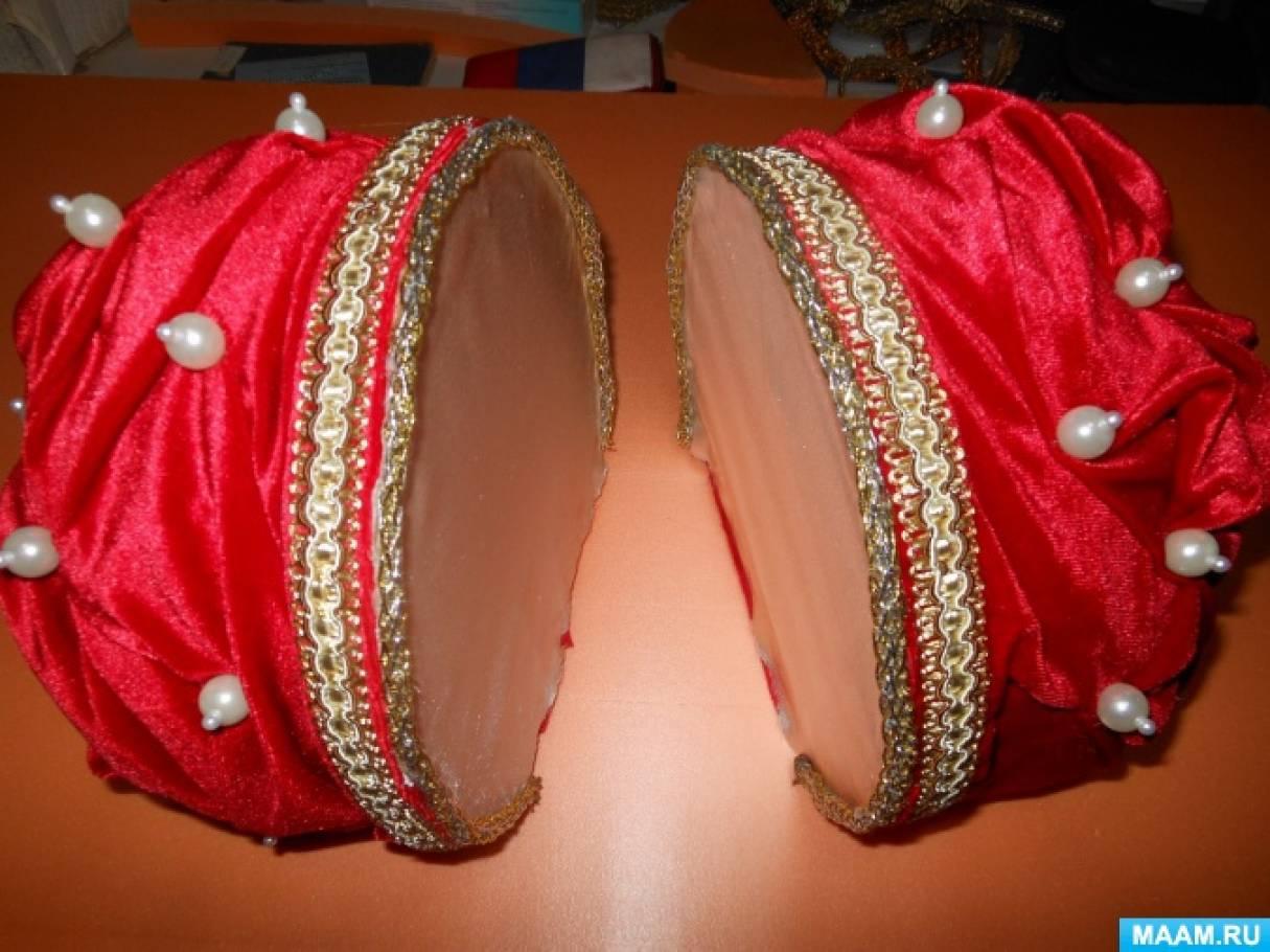 корона из конфет своими руками пошаговое фото пришлось