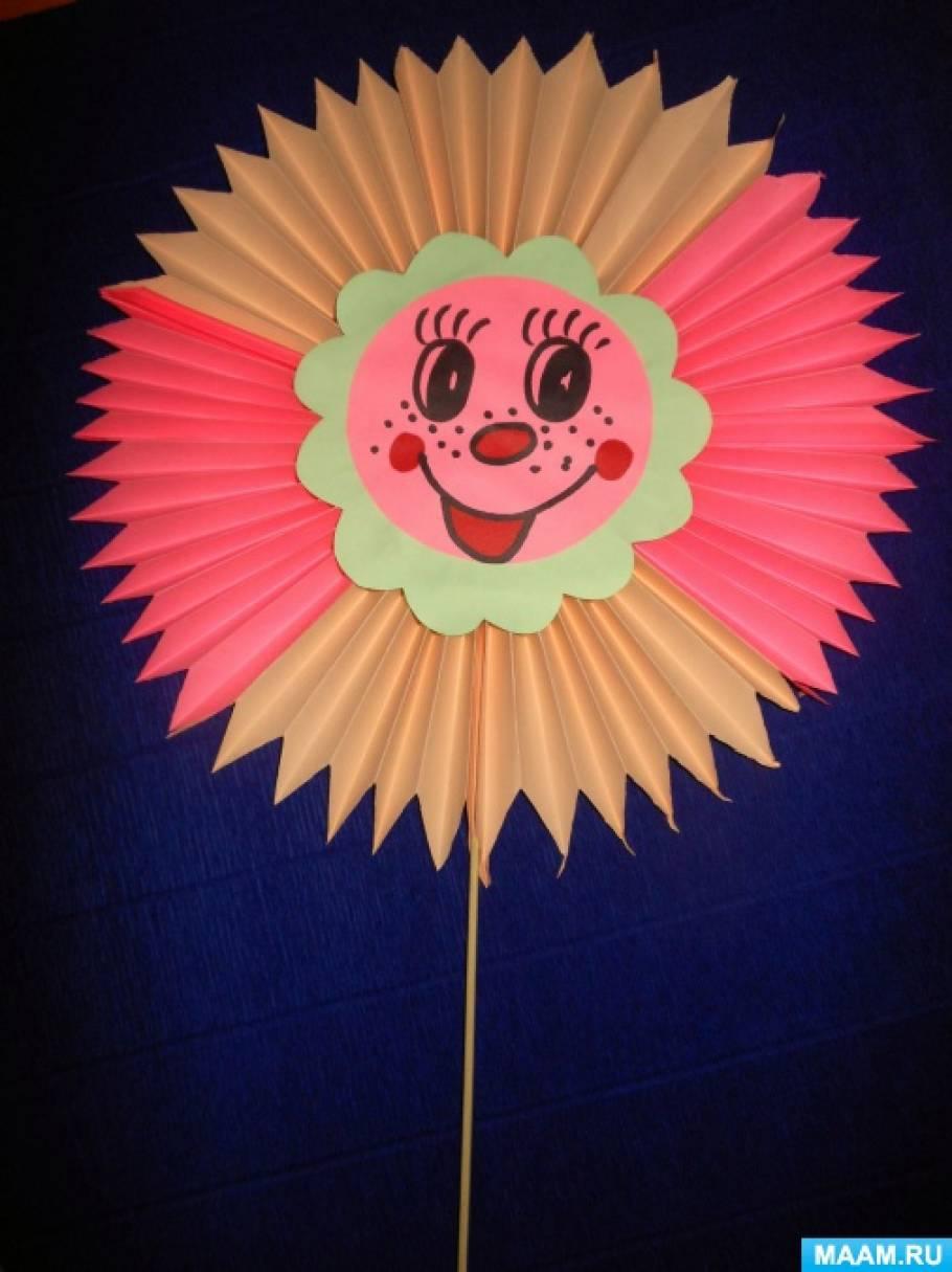 Солнышко своими руками для детского сада из бумаги 100