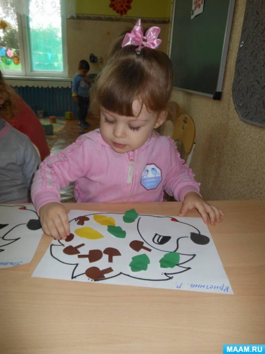 знакомство с детками в детском саду