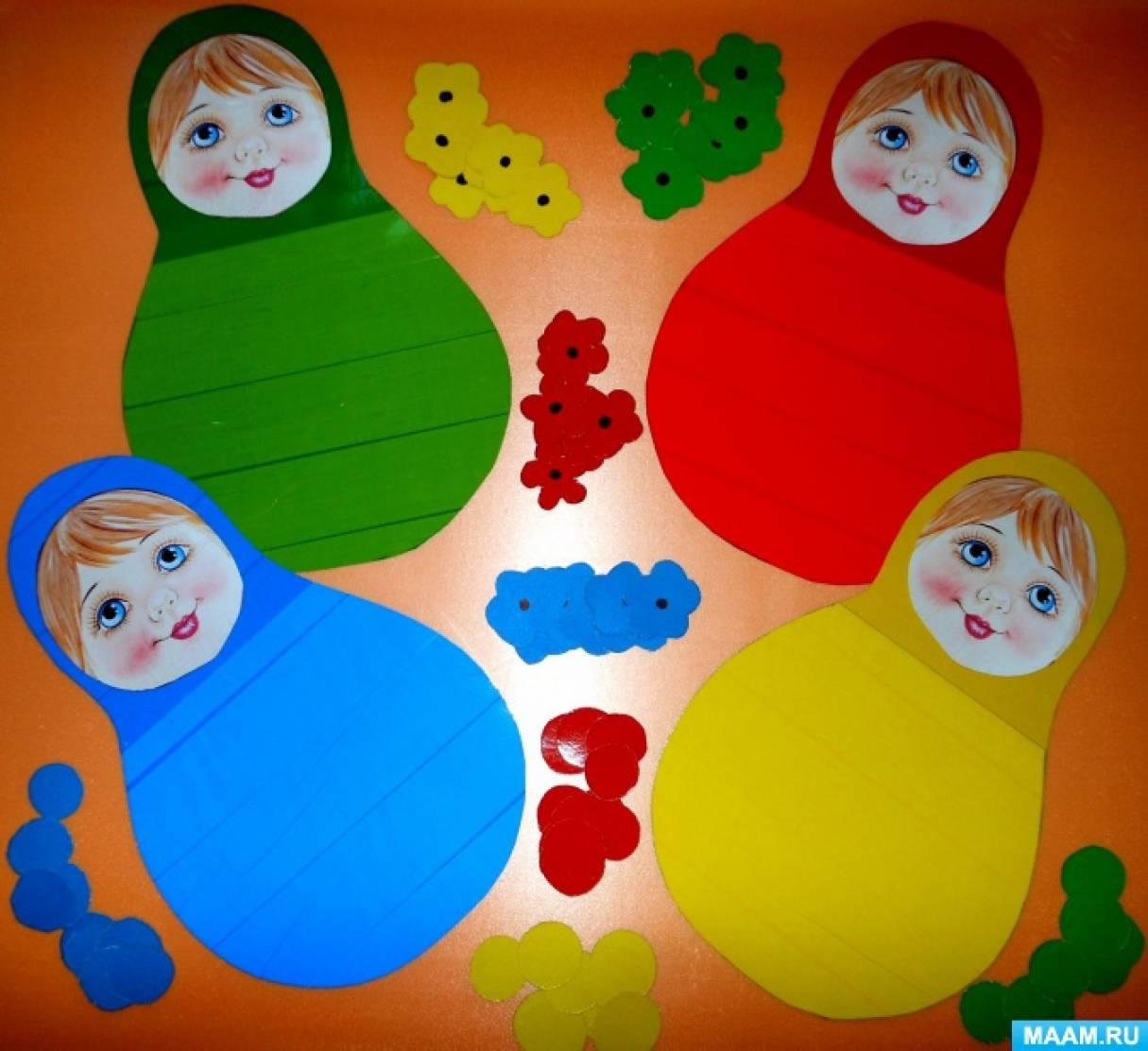 картинки для детей матрешка