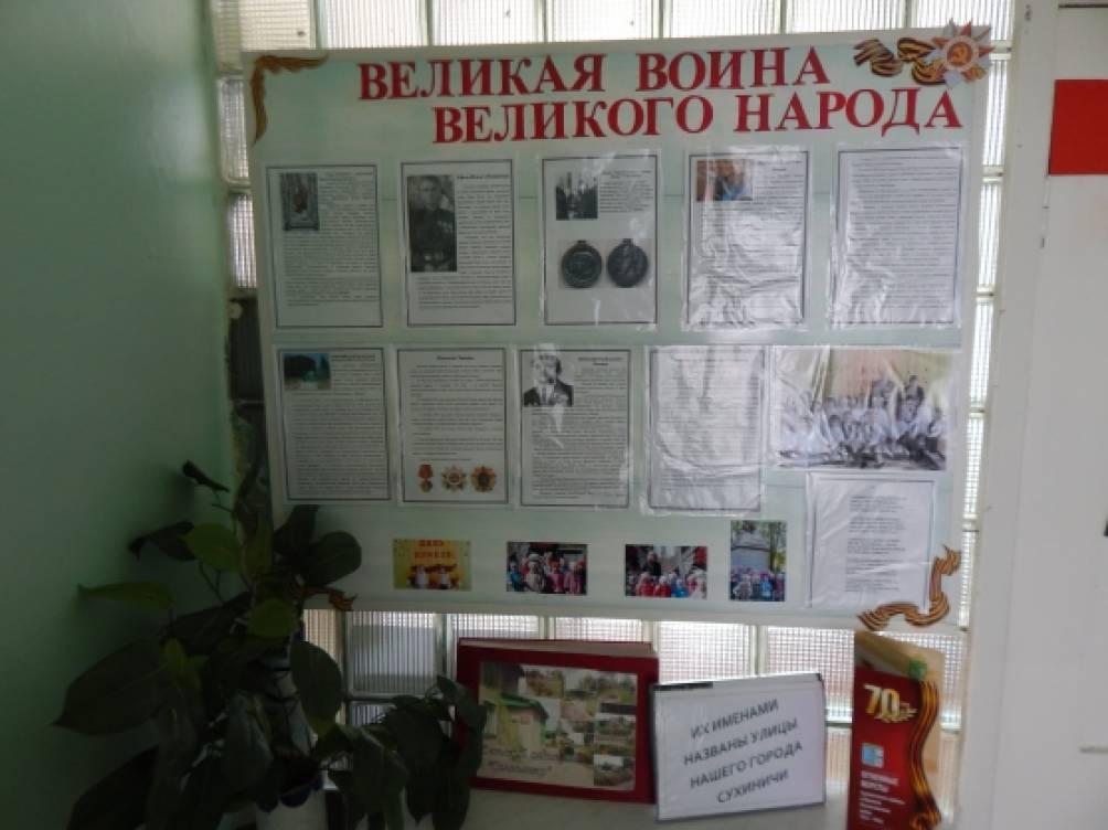 Прошедшие мероприятия к 70-летию Победы в МКДОУ «Детский сад «Солнышко»