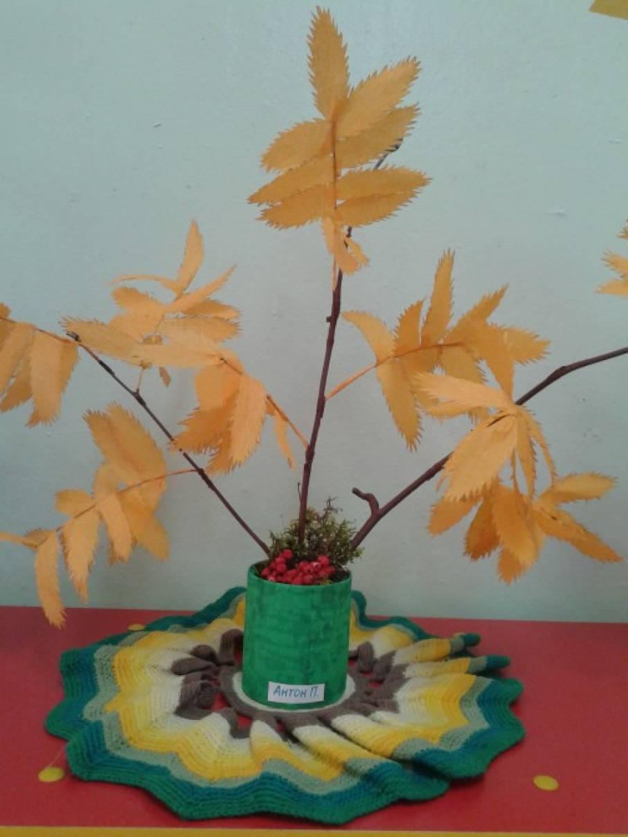 Поделки на осень деревья 103