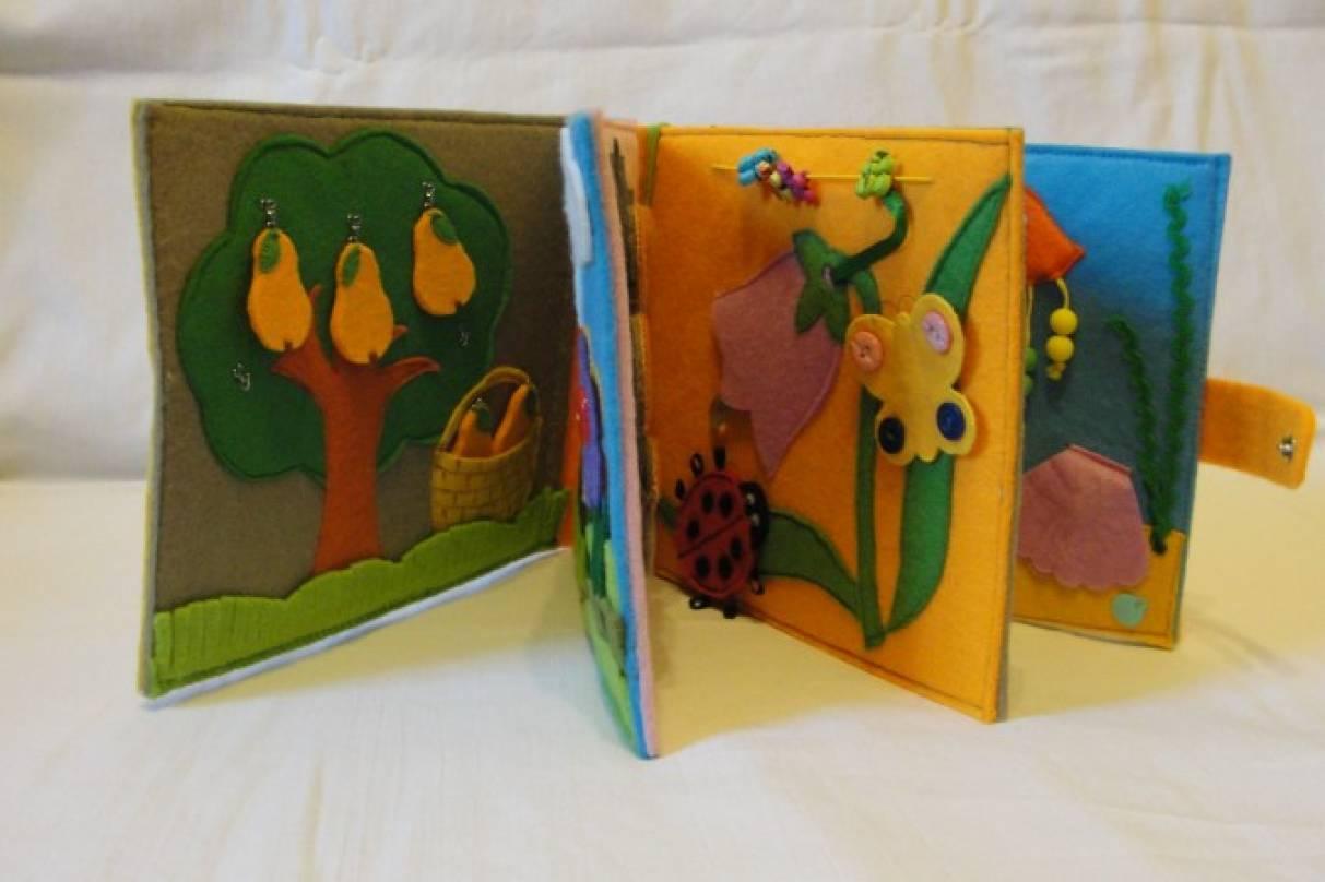 Книги своими руками для детей из пластиковых папок