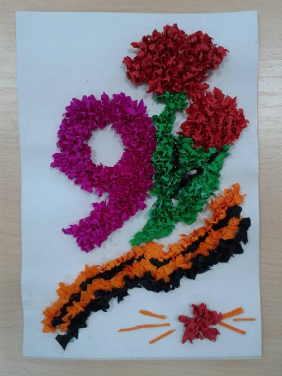 Пластилин К 70-летию Великой Победы 10 цв. 200 г. с европодвесом