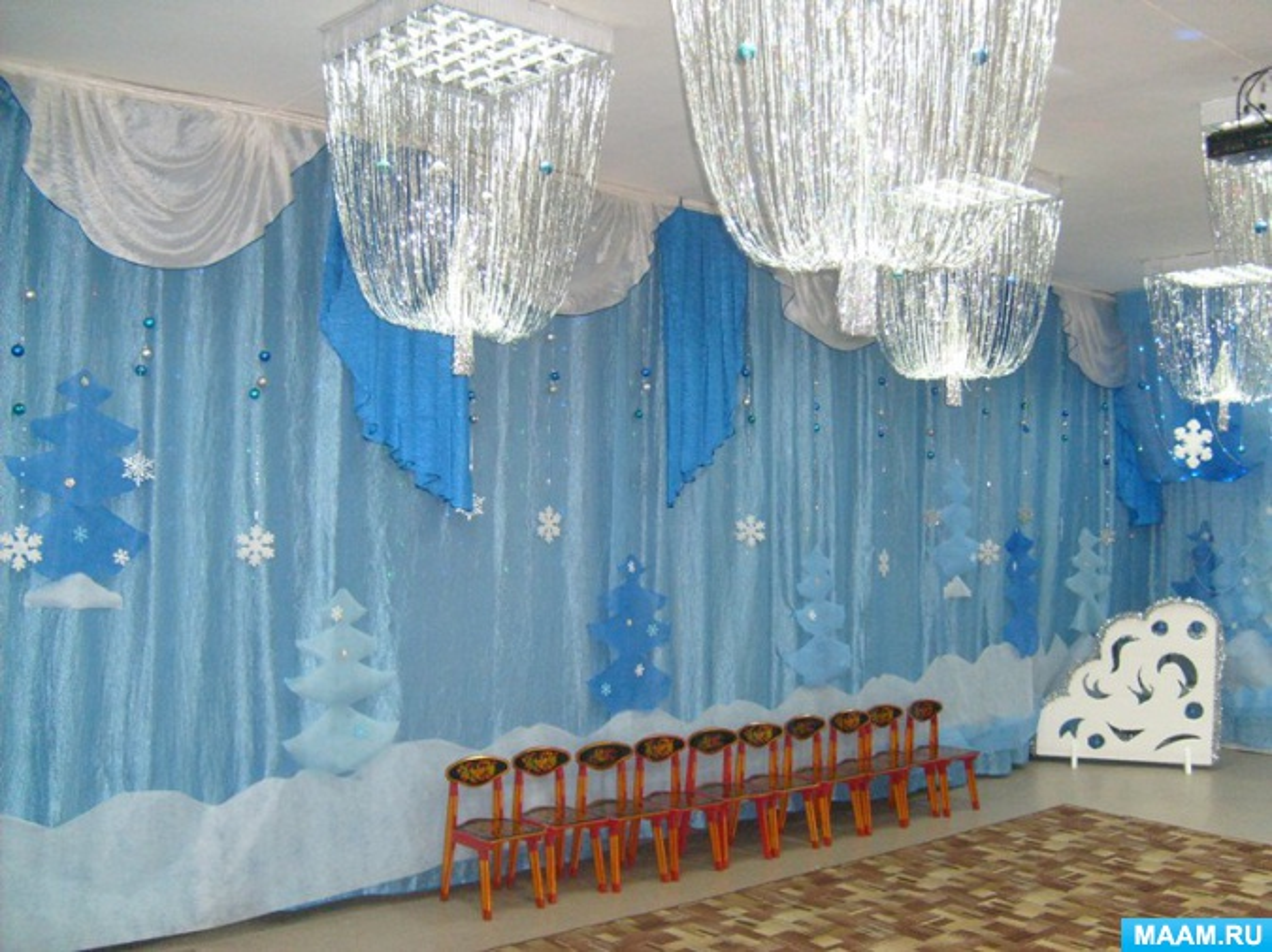 сценарии нового года в детском саду средняя группа