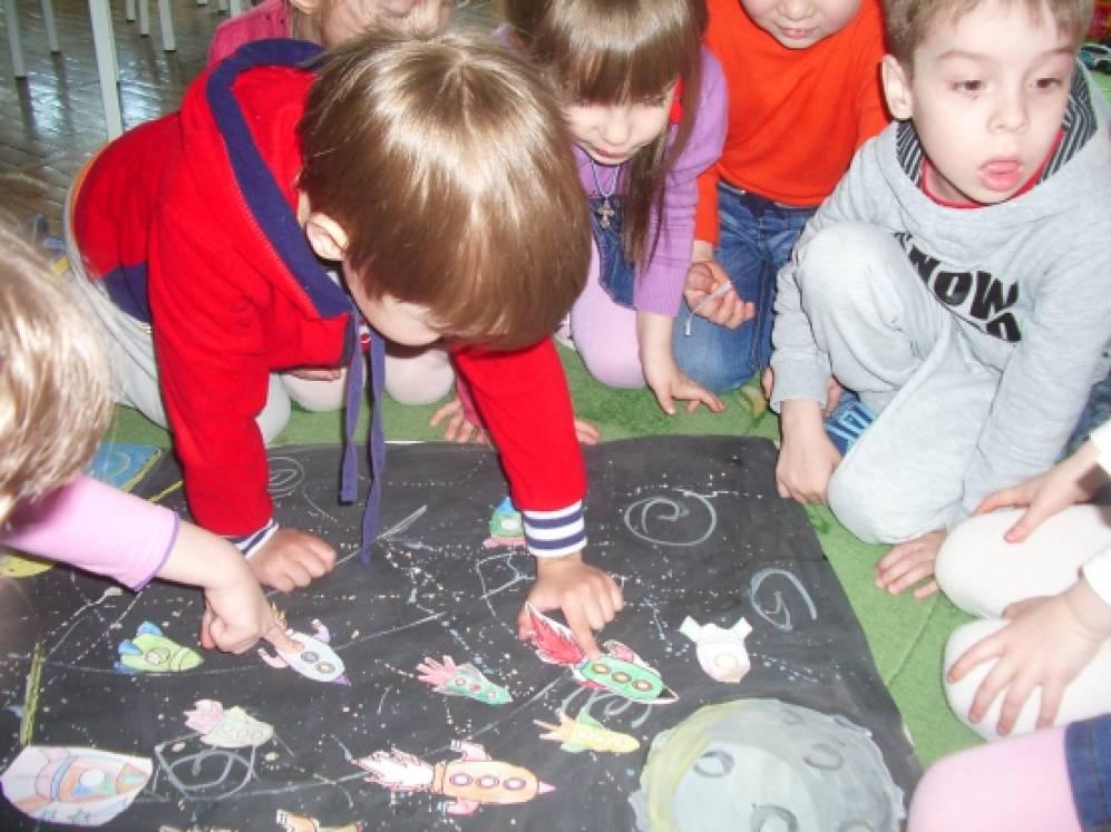 Космос для воспитателей детских