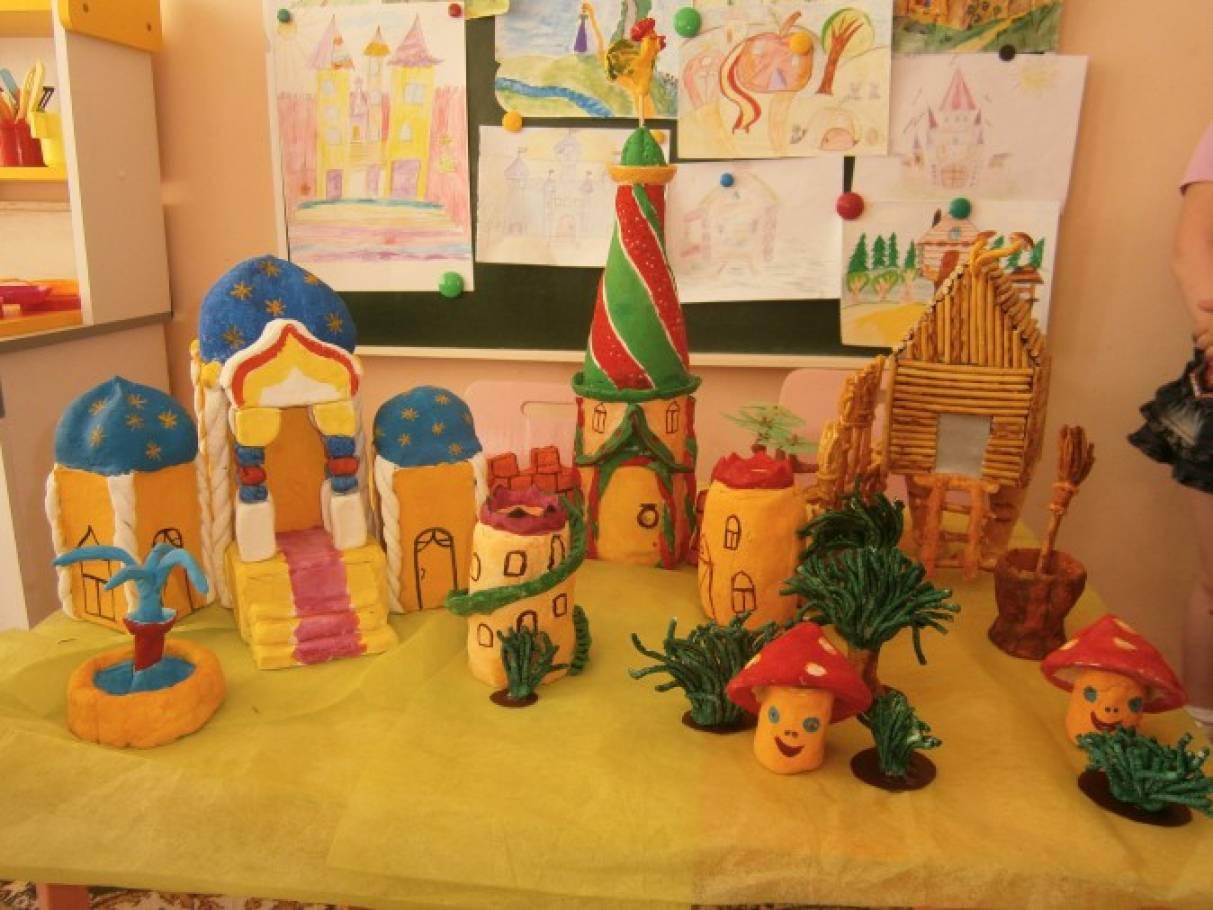 Образовательный проект Тема: «Сказочный городок»