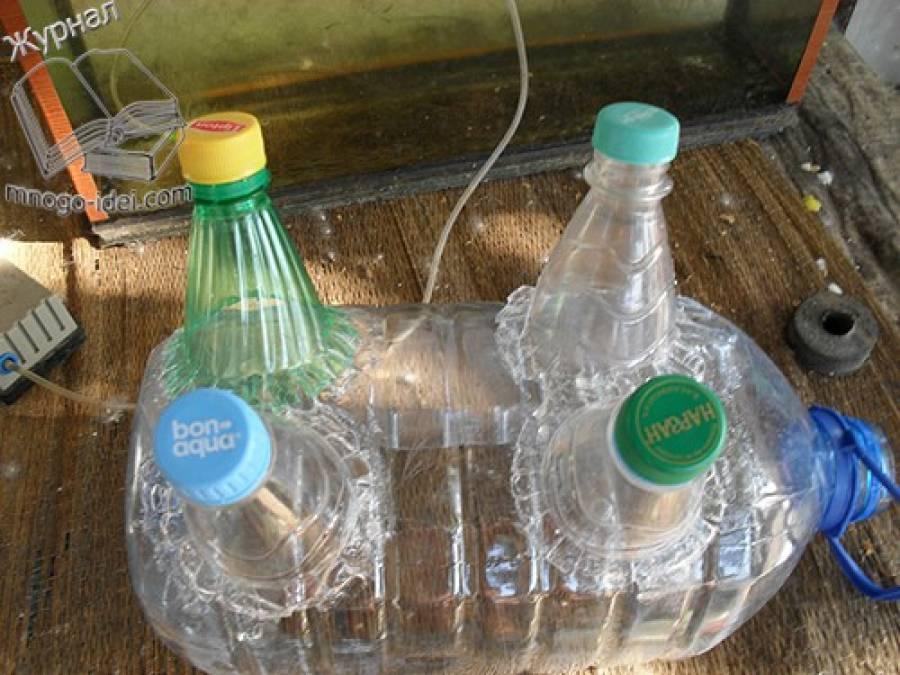 Из пластиковых бутылок пошаговое