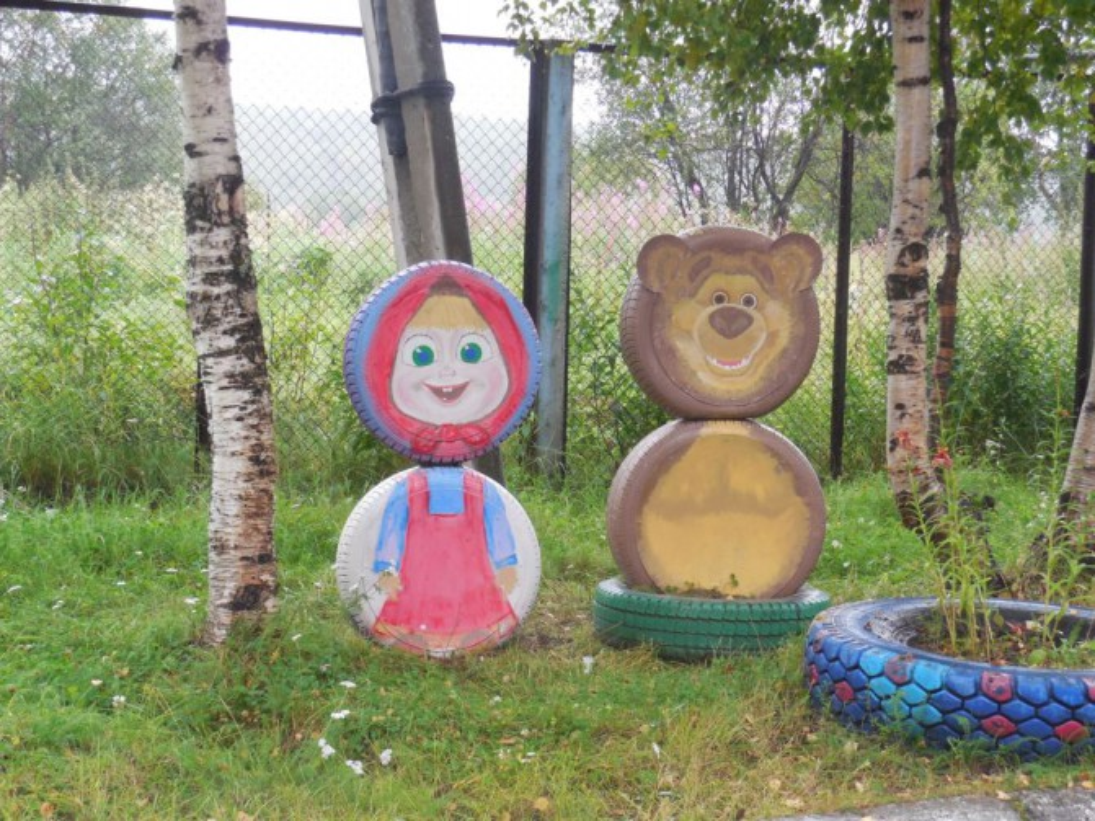 Как сделать машу и медведя своими руками