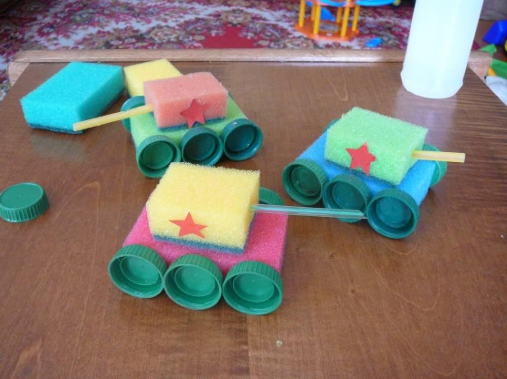Поделки из бросового материала для детей детского сада 279