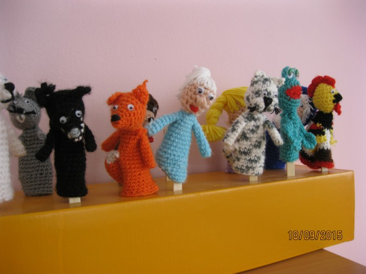 вязаные куклы для пальчикового театра воспитателям детских садов