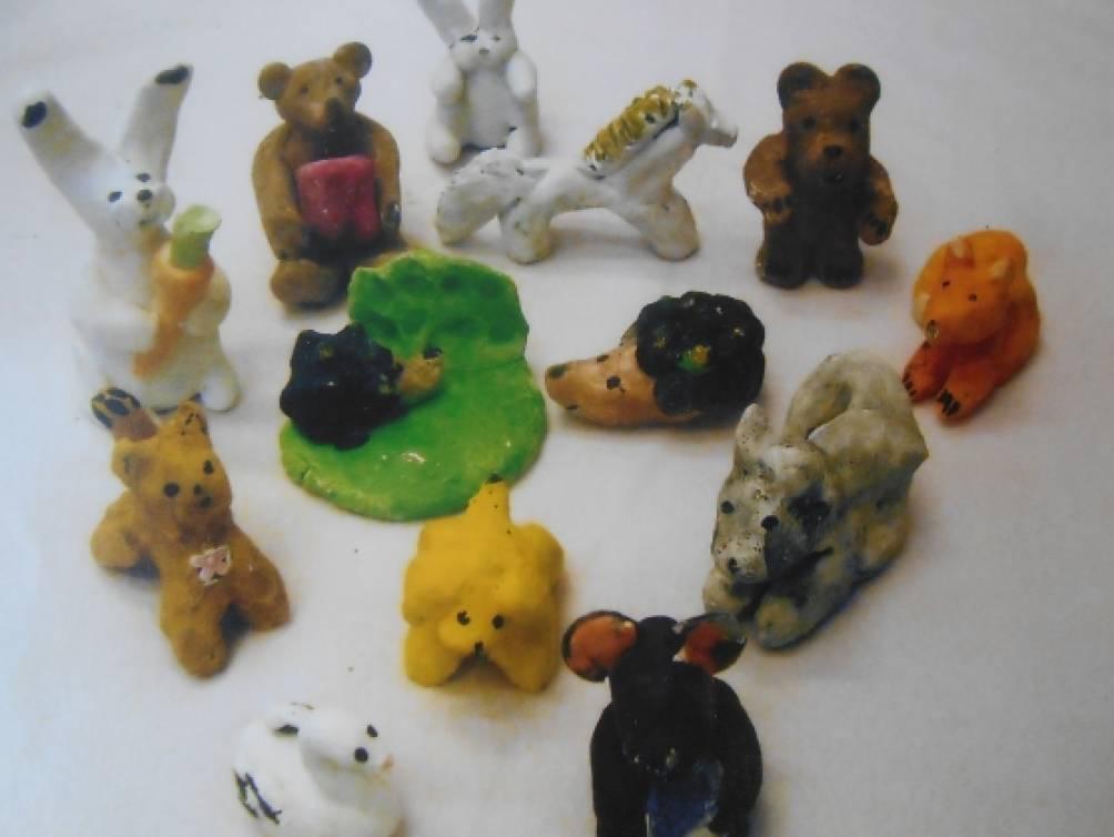 филимоновская игрушка знакомство детей средней группы