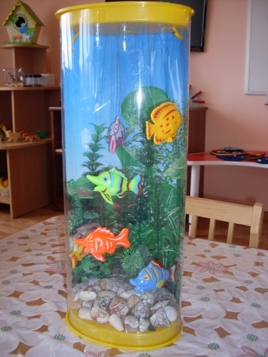 Макет аквариум своими руками