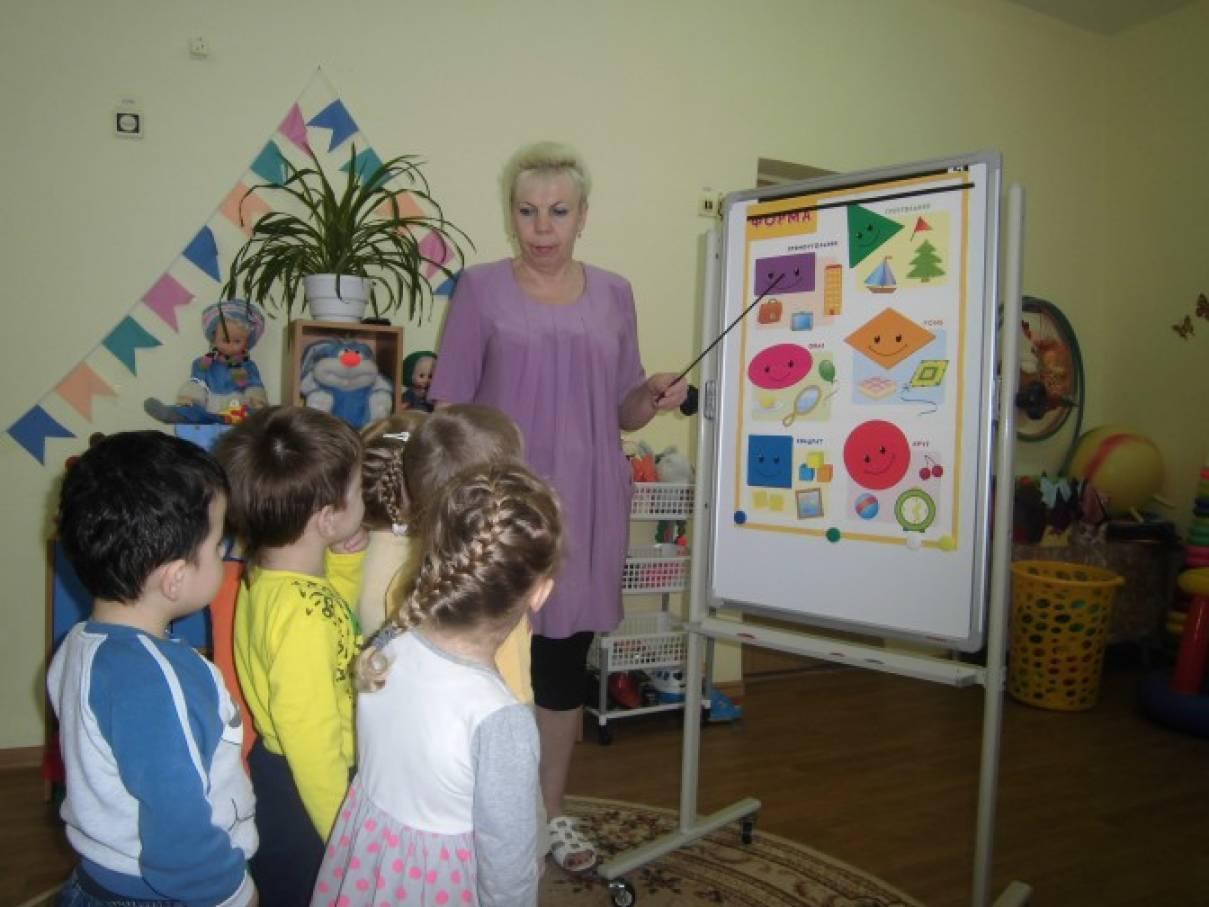 этапы знакомства детей с геометрическими фигурами