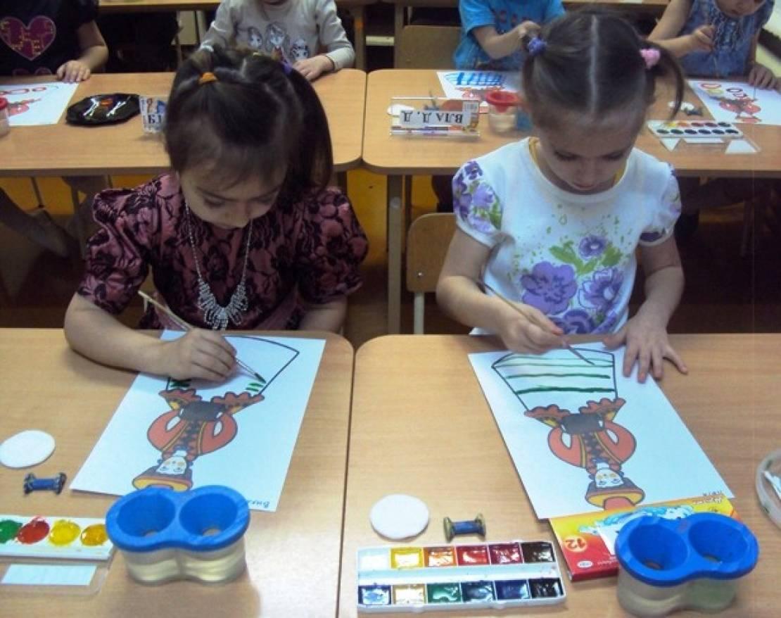 Изо в средней группе детского сада картинки