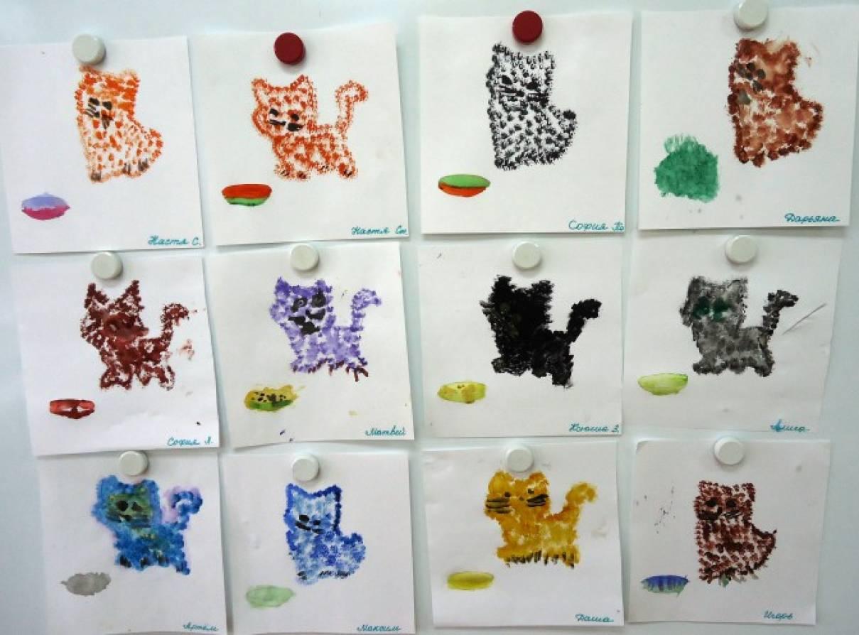 Конспекты занятий в средней группе детство с фгт изо деятельность дикие животные