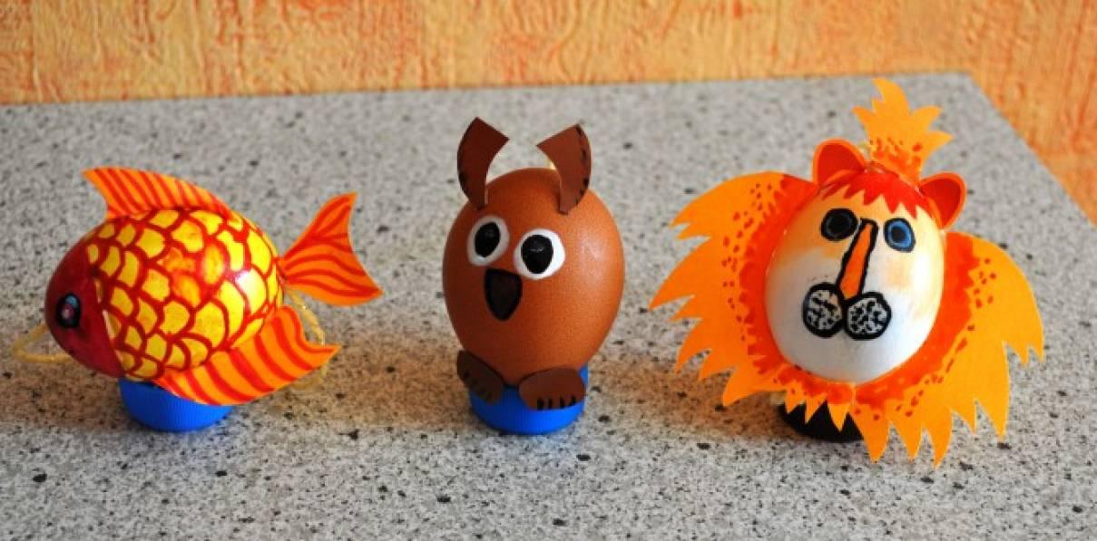 """Новогодние игрушки"""" из яичной скорлупы. Мастер-класс """"Зайчишка"""". Воспитателям детских садов, школьным учителям и педагогам - Маа"""