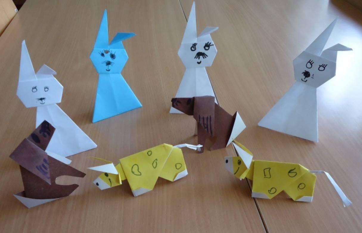 Картинки оригами для детей средней группы