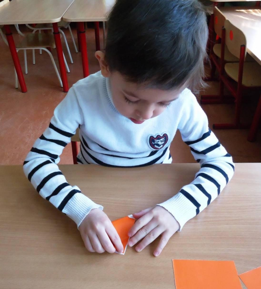36Оригами в средней группе и бумаги