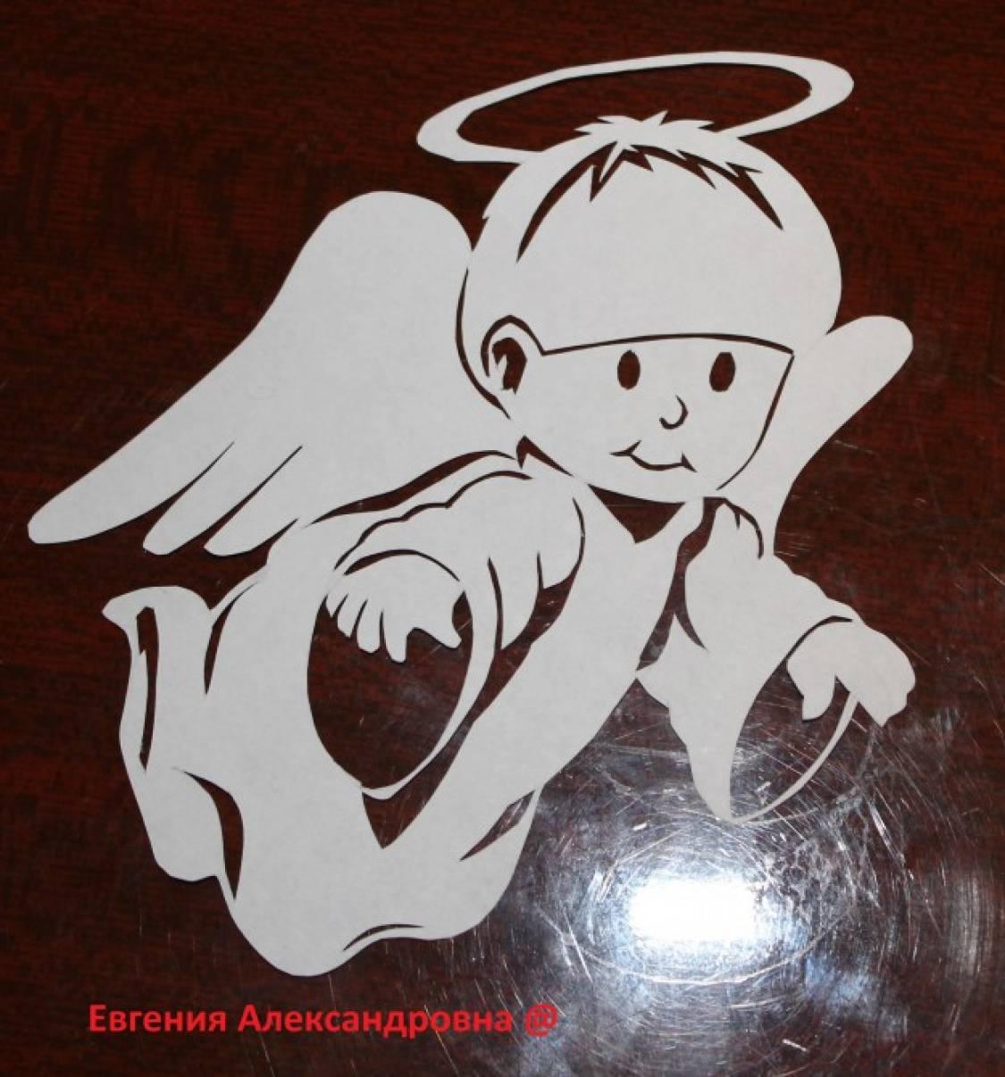 новогодние ангелочки картинки для вырезания из бумаги строительстве