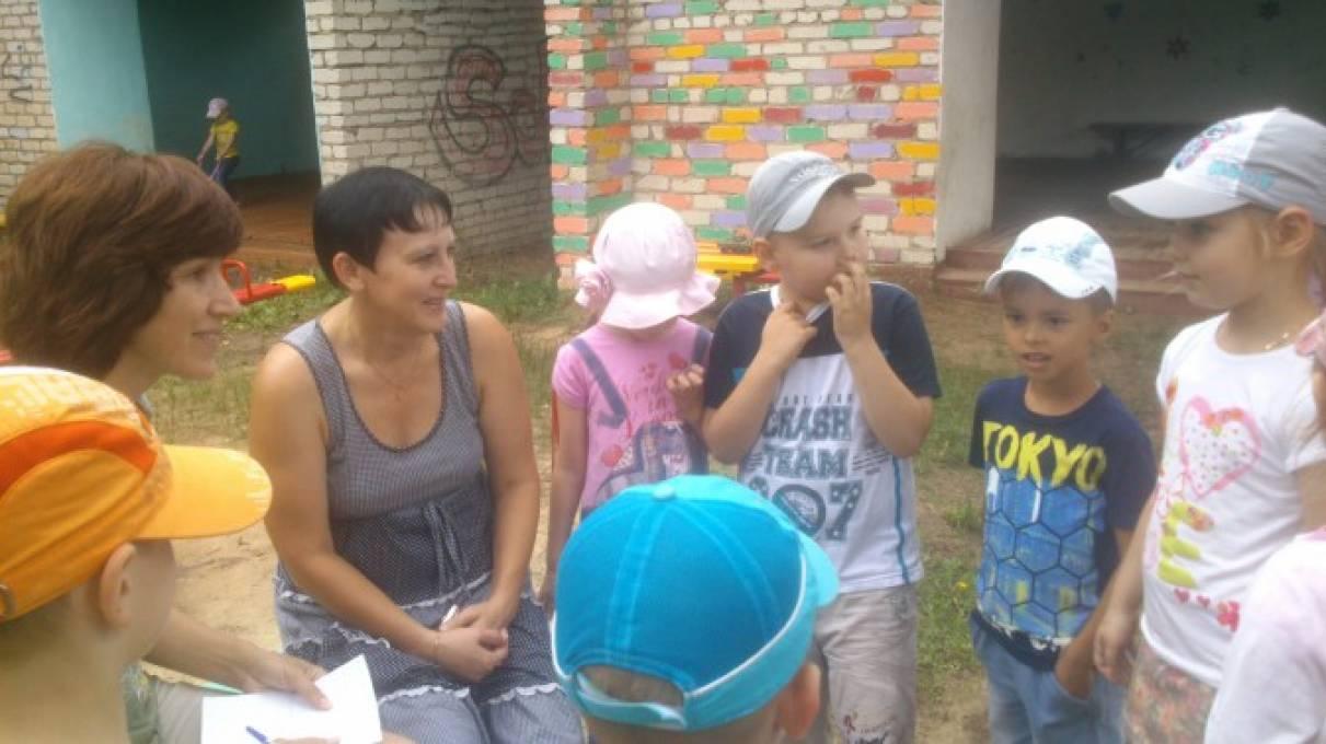 знакомство с детским садом цель