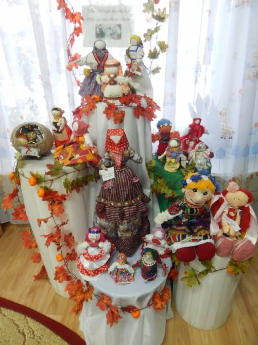 Фотоотчет о творческом конкурсе «Русская народная кукла»