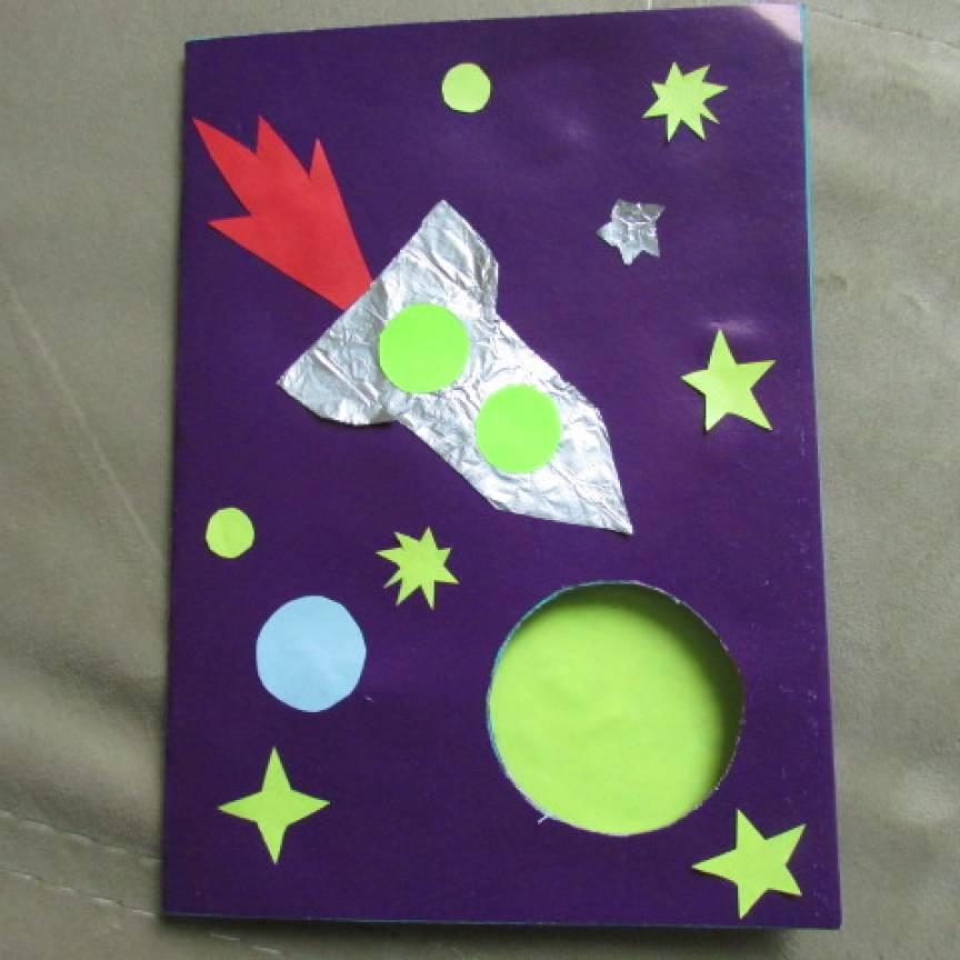 Открытки своими руками о космосе