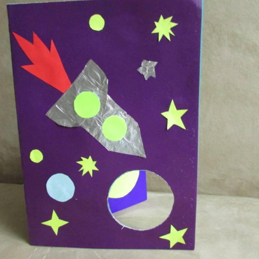 Открытки детей ко дню космонавтики, днем рождения надежде
