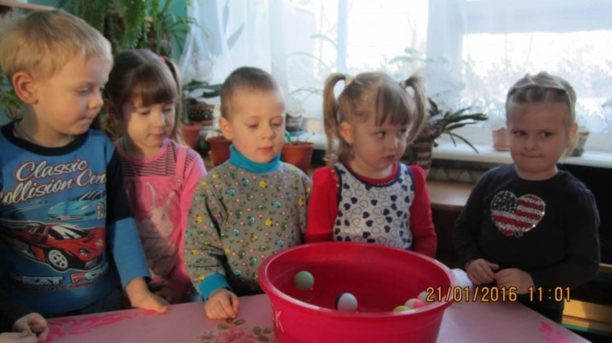 Познавательное развитие детей младшего дошкольного возраста в процессе исследовательской деятельности