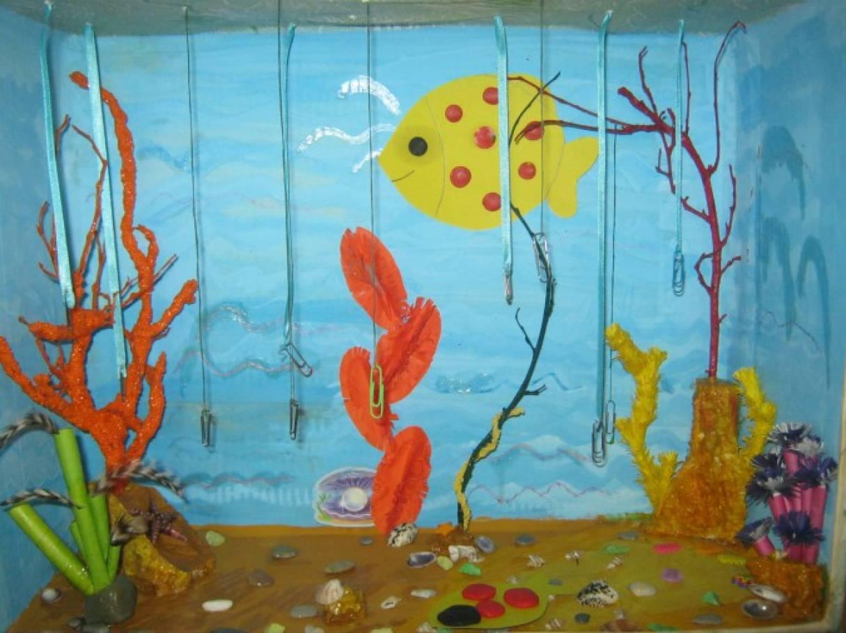 Конспект занятия в младшей группе по теме аквариумные рыбки