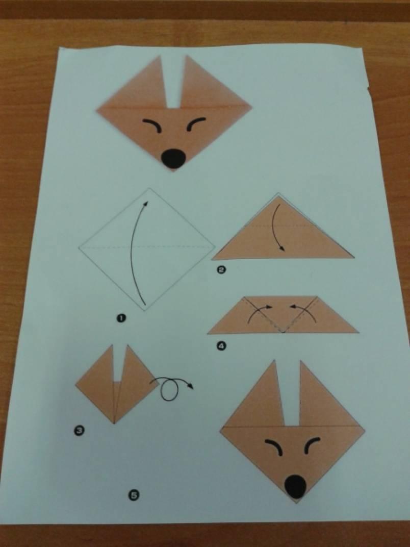 Конспект по оригами в подготовительной группе