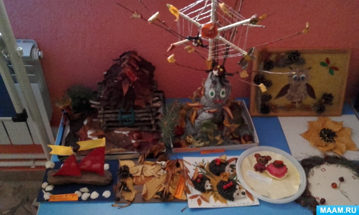 Проект «Осень золотая в гости к нам пришла» в средней группе