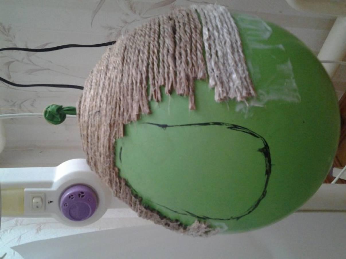 Как сделать улей из ниток пошагово