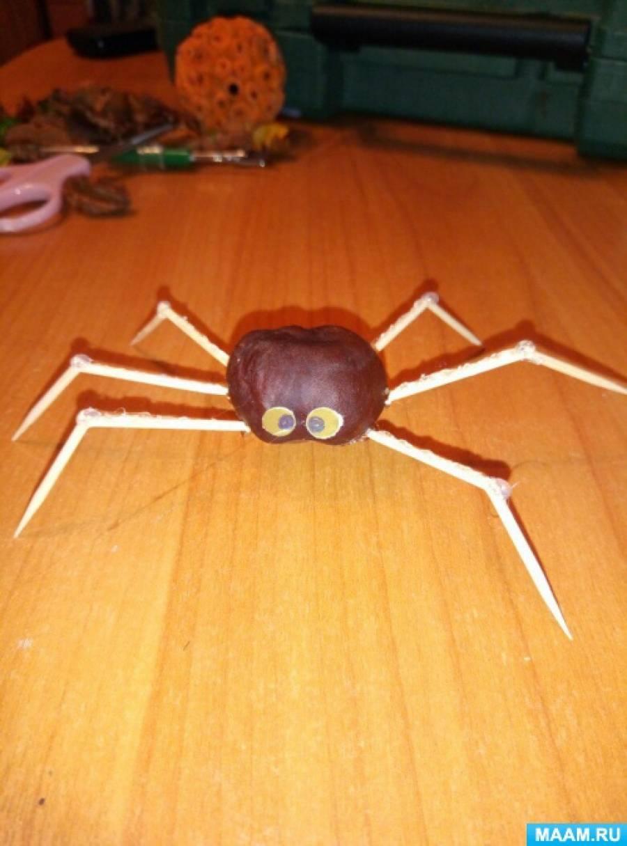 Как сделать поделку паука своими руками 31