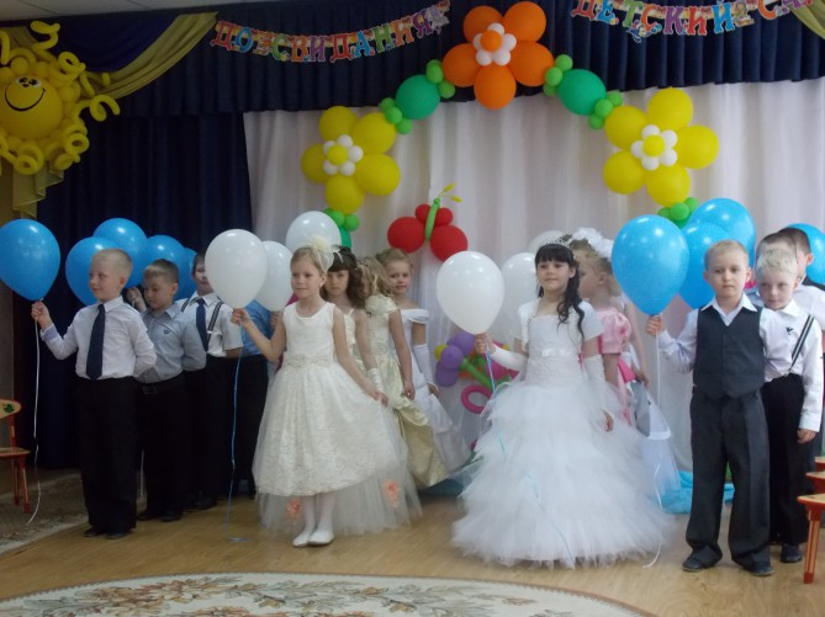 Сценарий выпускного праздника «Прощай, любимый детский садик»