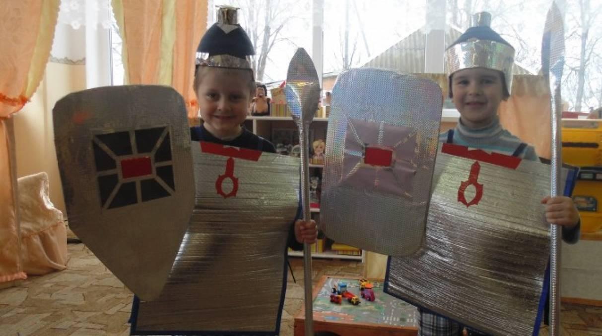 Картинки шлем богатыря для детей в детском саду