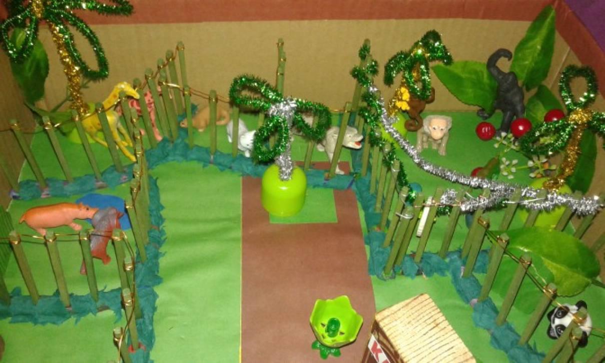 Мастер-класс по изготовлению поделки «Зоопарк» своими